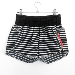 🦄 RARE Lululemon Seawheeze Tracker Short Stripe